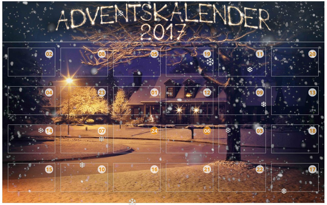 spannende adventszeit adventskalender online. Black Bedroom Furniture Sets. Home Design Ideas